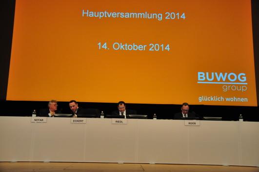Live-Blog von der 1. ordentlichen Hauptversammlung der BUWOG AG