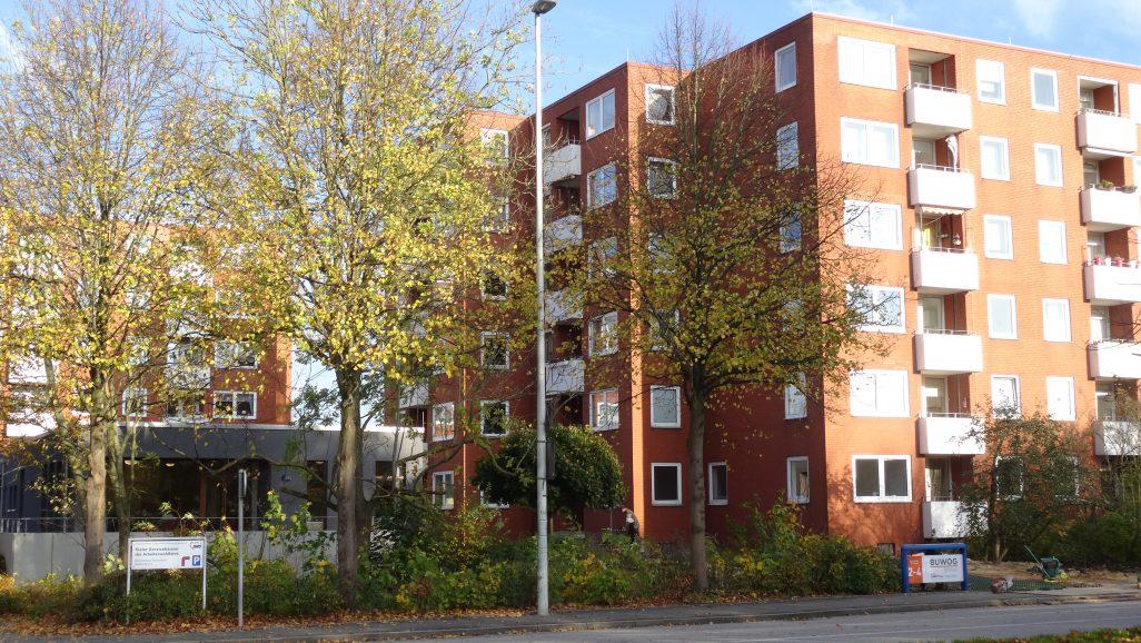 BUWOG renovierte und erweiterte AWO Servicehaus in Kiel