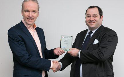 Die BUWOG startet mit Elan ins Jahr 2015 – und mit einem Preis