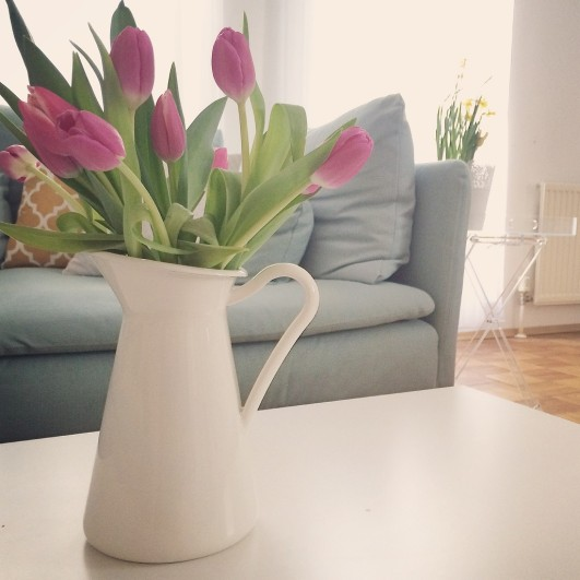 Spring decoration tips for the flat