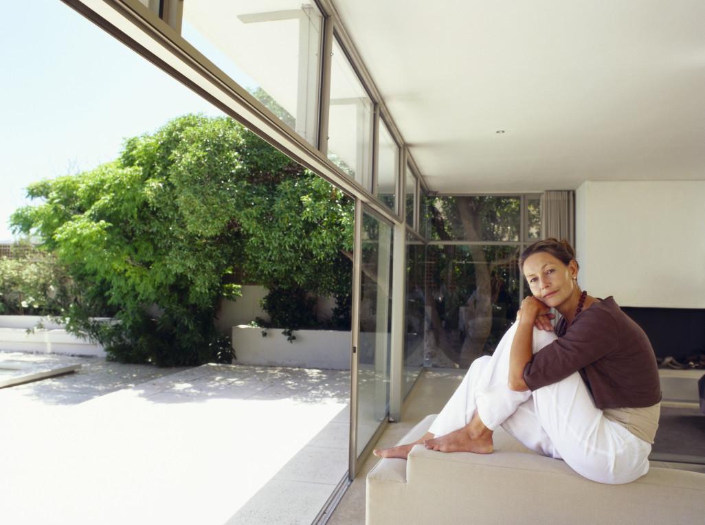 Wohnbehaglichkeit durch die Sonnenstrahlen im Frühjahr