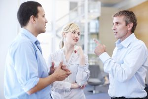 Informal team talk