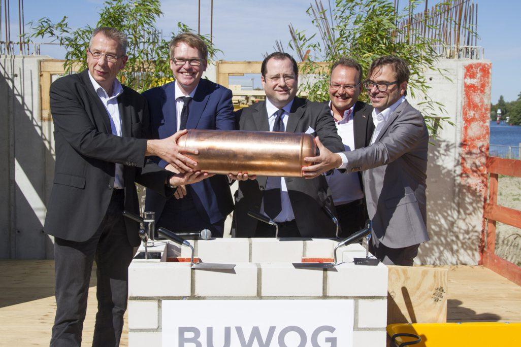 Grundstein für größte BUWOG-Projektentwicklung gelegt
