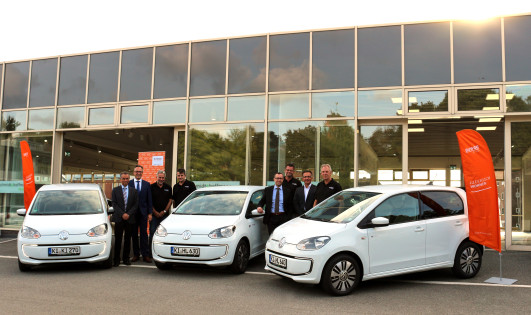Three new electric vehicles for BUWOG's German fleet