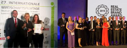 Zwei Auszeichnungen für die BUWOG Group