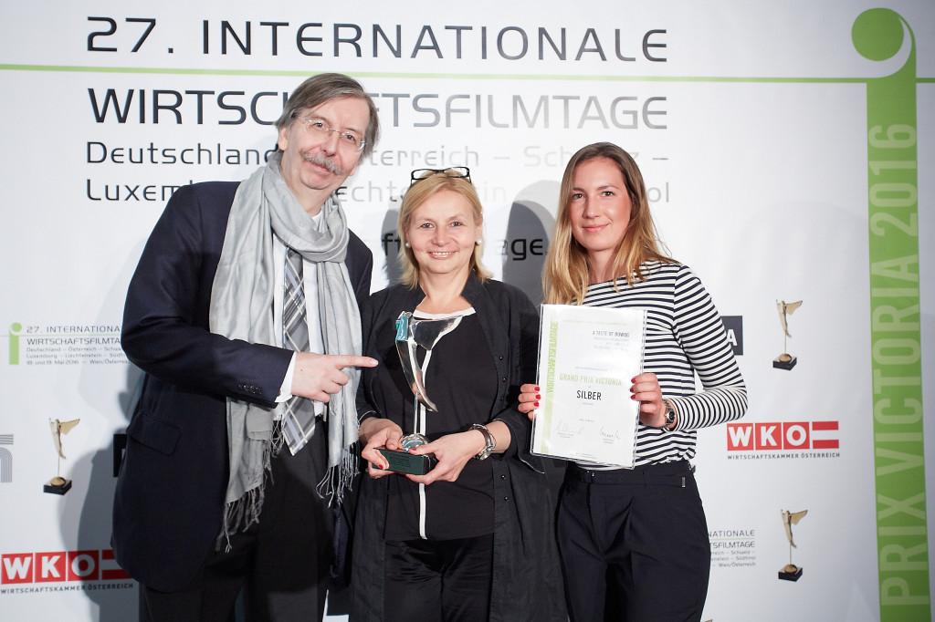 27. Internationalen Wirtschaftsfilmtage - Verleihung der Grand Prix Victoria 2016