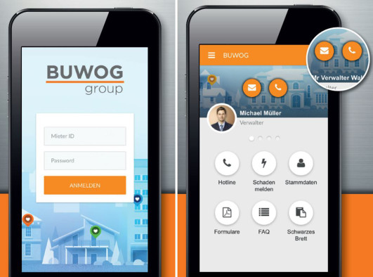The BUWOG tenant app is on its way! A new tool for simplified tenant communication is in the final test phase