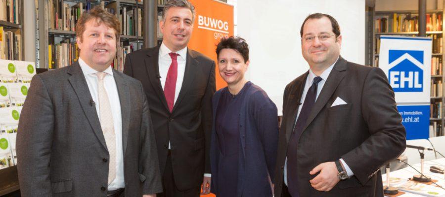 5-jähriges Jubiläum: Pressekonferenz zum Ersten Wiener Wohnungsmarktbericht 2017