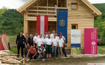 BUWOG Christmas donation 2016:  house in Srebrenica completed