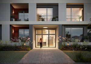 Zuhause in Grünau: Repräsentativer Eingangsbereich