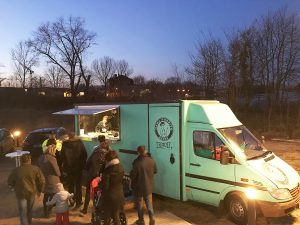Authentisches Set-Food: Der Burrito-Truck ist da!