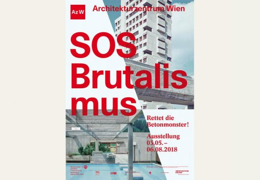 "SOS Brutalism"": BUWOG tour in the Architekturzentrum Wien"