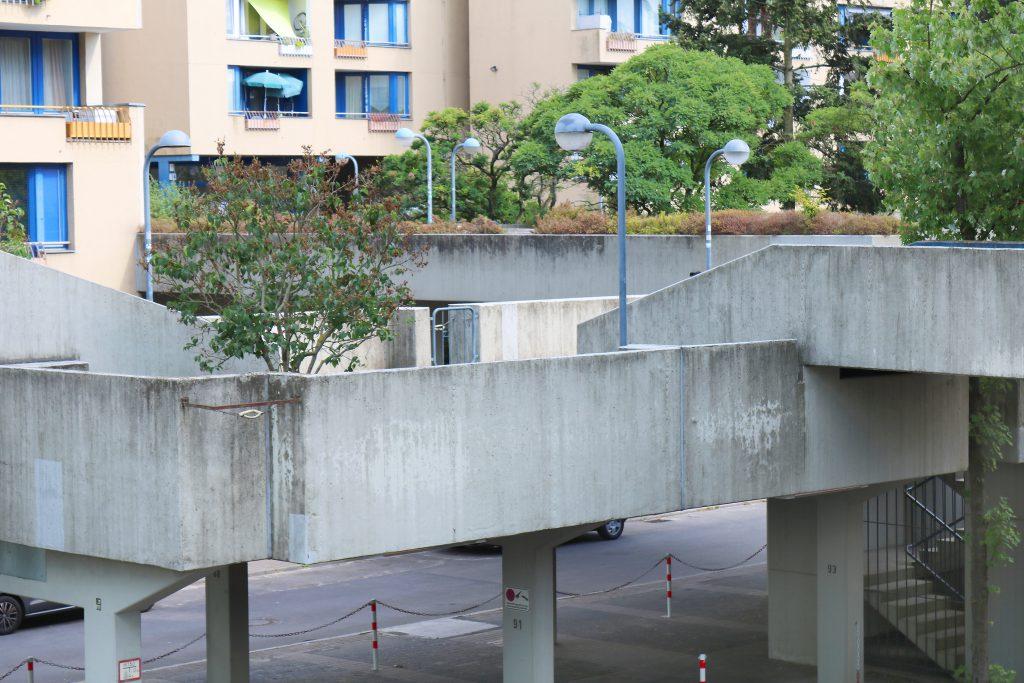 Die High-Decks bieten auch Gemeinschaftszonen