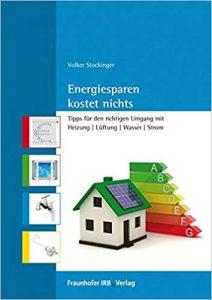 """Buchtitel """"Energiesparen kostet nichts"""""""