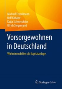 """Buchtitel """"Vorsorgewohnen in Deutschland"""""""