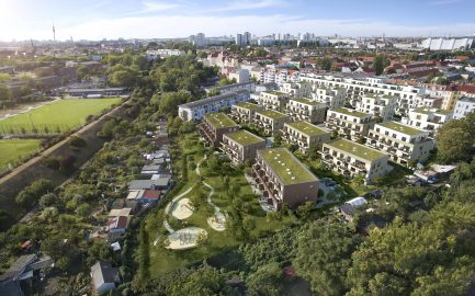 Info day on 18 November // 207 apartments, a daycare centre and a 19,000 sqm park