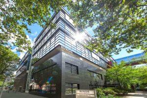 BUWOG Büro Berlin: Hier wird eine Nachhaltigkeitsagenda umgesetzt. Foto: Hechtenberg / BUWOG