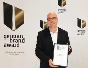 Excellent Brand: Für die BUWOG nahm Pressesprecher Michael Divé die Urkunde entgegen
