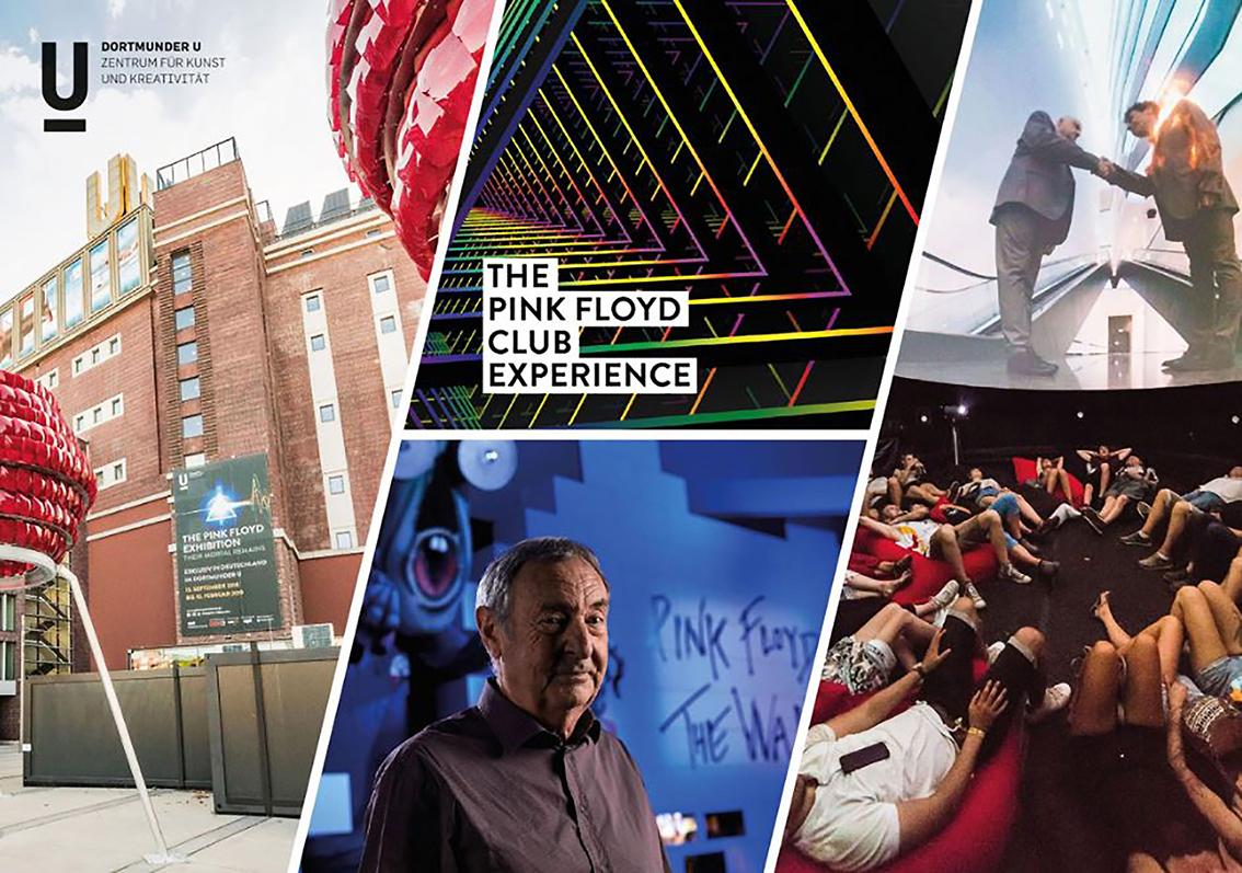 Das Kunstzentrum Dortmunder U beim German Brand Award, ausgezeichnet als Lighthouse für die epochale Pink Floyd Ausstellung