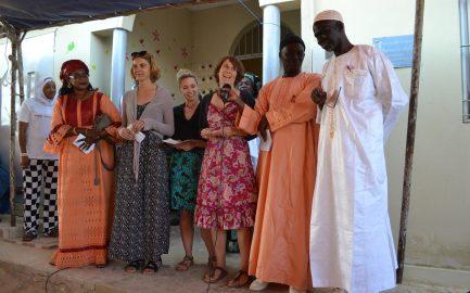 """Feierliche Eröffnung """"Ein Haus für Straßenkinder"""" im Senegal"""