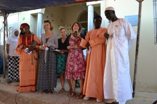 "Festive opening of ""A Home for Street Children"" in Senegal"
