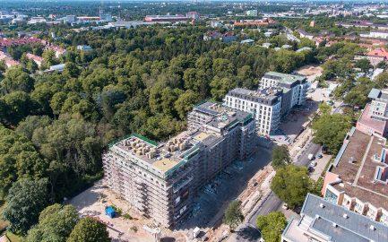 Ein nachhaltiges Wohnquartier entsteht: Das Neubauprojekt BUWOG NEUMARIEN liegt gut im Zeitplan