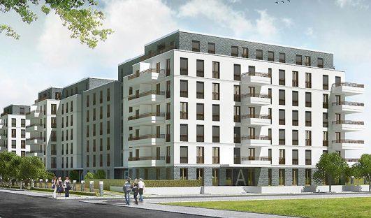 214 Mietwohnungen in Neukölln: Vermietungsstart in BUWOG NEUMARIEN