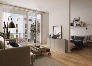 Smarter Grundriss: Micro-Apartment