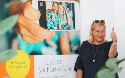 BUWOG-Kampagne 2020: Urlaub mit Augenzwinkern