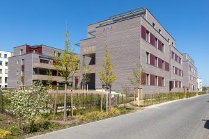 Fertiggestellt 2020: BUWOG Kompasshäuser, ausgezeichnet mt dem ICONIC AWARD 2020 Foto: BUWOG / Hechtenberg