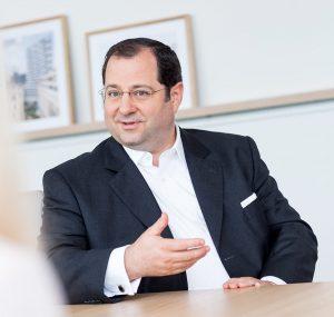Daniel Riedl, Vorstandsmitglied der Vonovia SE und zuständig für das gesamte BUWOG-Geschäft in Österreich sowie das BUWOG-Development in Deutschland
