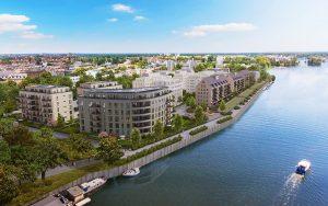 BUWOG Wohnquartier am Ufer der Havel