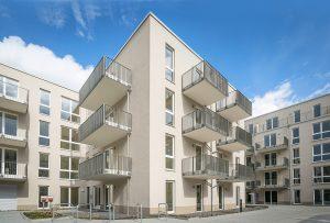 Quartier mit Hof: CUBIST vereint 230 Mietwohnungen
