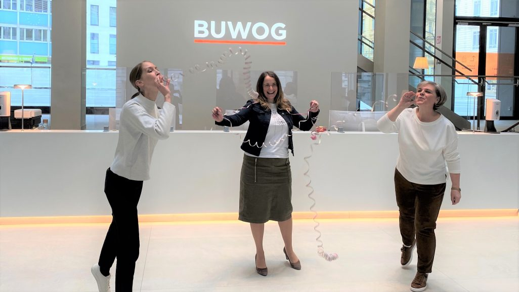 Apprentices welcome at BUWOG!
