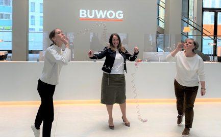 Lehrlinge willkommen bei der BUWOG!