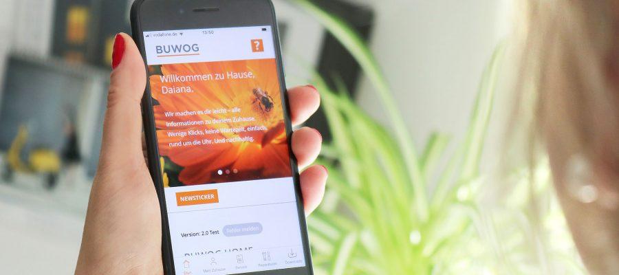 BUWOG HOME: Die neue App für Mieter:innen